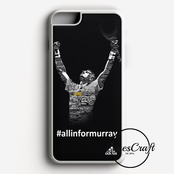 Andy Murray Tennis Champion Poster iPhone 7 Case | casescraft