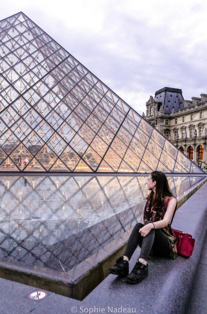 where to see sunset in paris, France (the very best spots): Louvre Museum, Paris