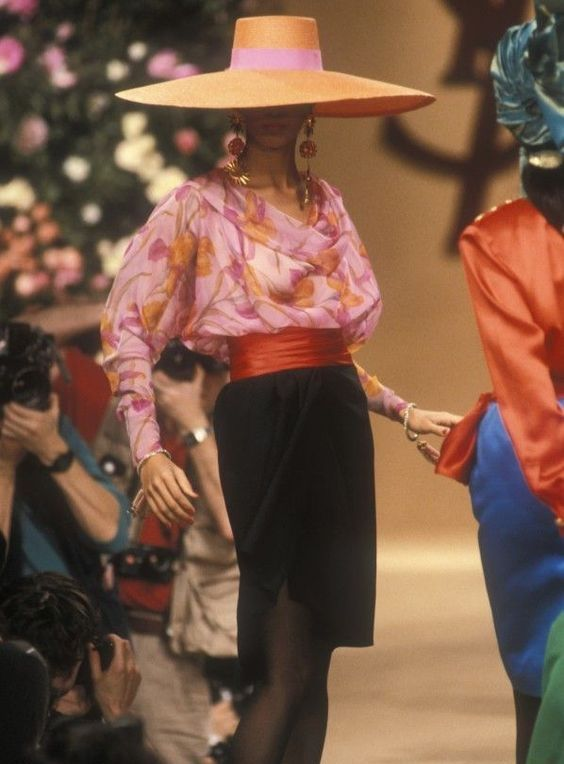 YSL Vintage Fashion Show details