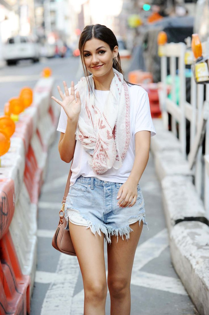 Victoria Justice out and about in New York City - 06/17/15