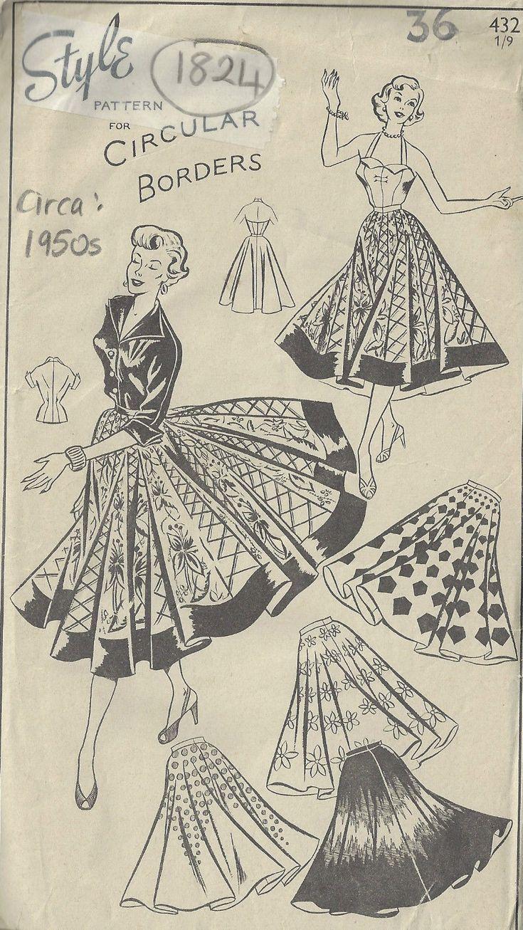 Vintage Année 50 dedans 2667 best vintage.fifty's. dresses, clothes. mode année 50 images