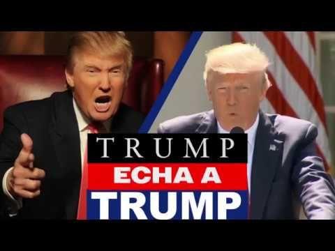 PARODIA: ¿Qué ocurriría si Trump echara a Trump? - YouTube