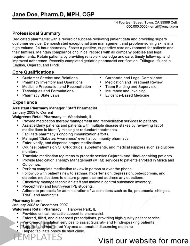 resume template black and white Professional in 2020