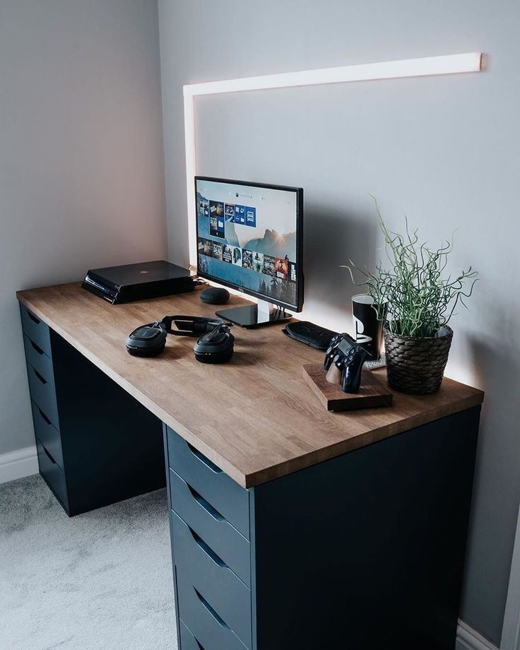 Best Ergonomic Office Keyboard Mouse Desk Chairsetup Gaming Design Modern Ideas Inspiration In 2020 Home Office Design Home Office Setup Desk Setup