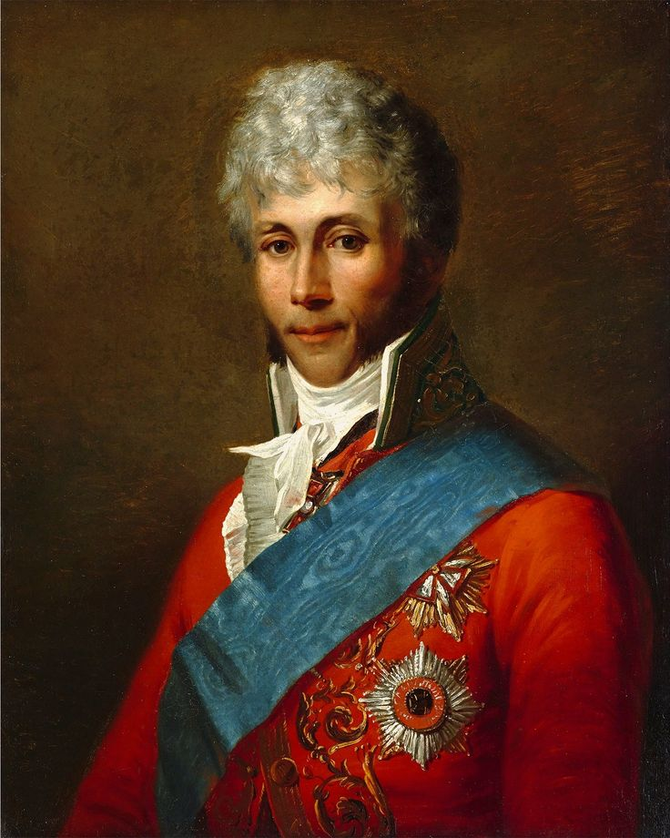 Portrait of Seweryn Potocki by Stepan Shchukin, ca. 1805 (PD-art/old), Zamek Królewski w Warszawie (ZKW)