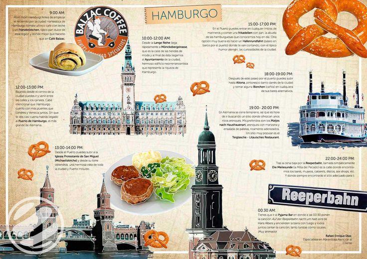 Guía de viaje para conocer Hamburgo en un día