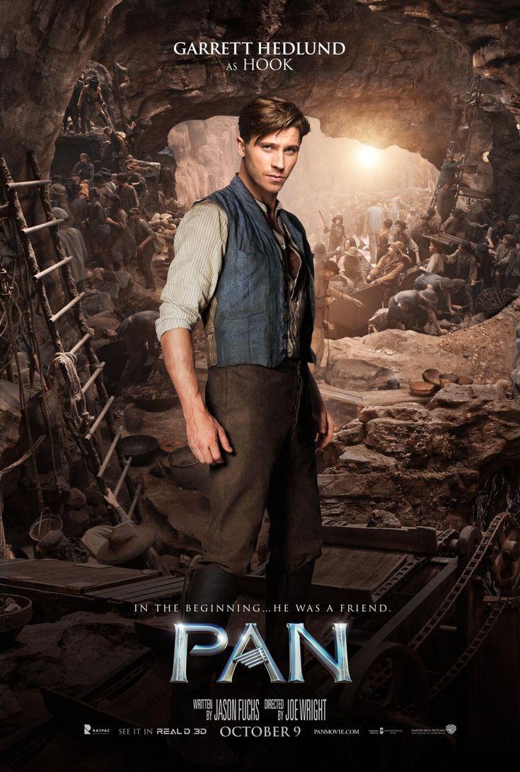 Pan - Garrett Hedlund as Hook
