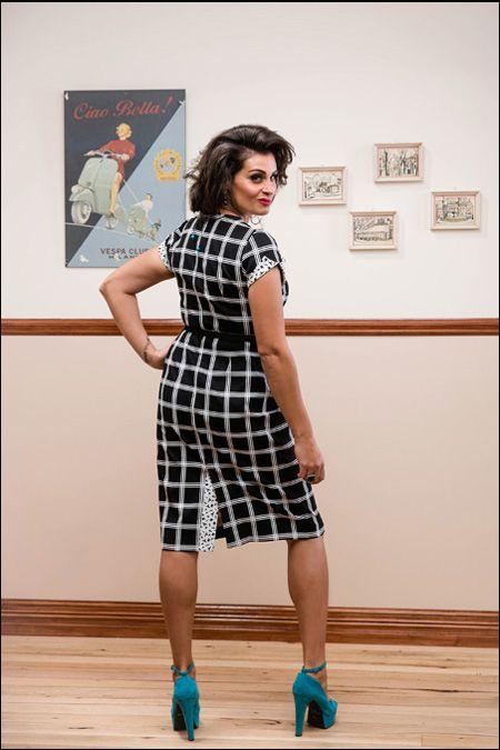 Bella Figura Silhouette Dress.  Purchase: http://sprinkleemporium.bigcartel.com/product/bella-figura-silhouette-dress2