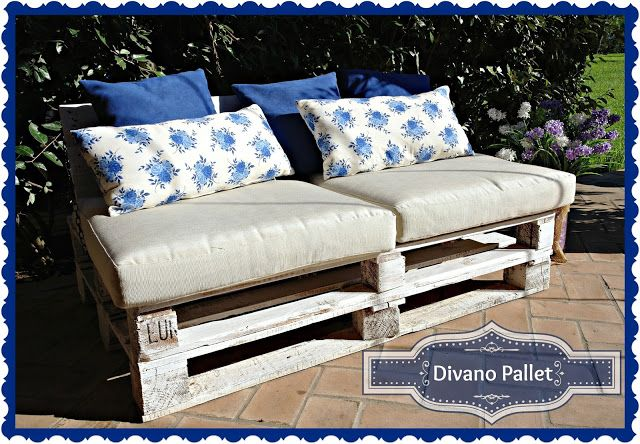 Pallet couch - Divano pallet