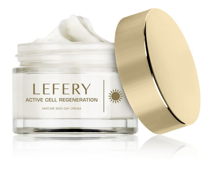 Lefery Active Cell Regeneration for Day cream recommended by dermatologists