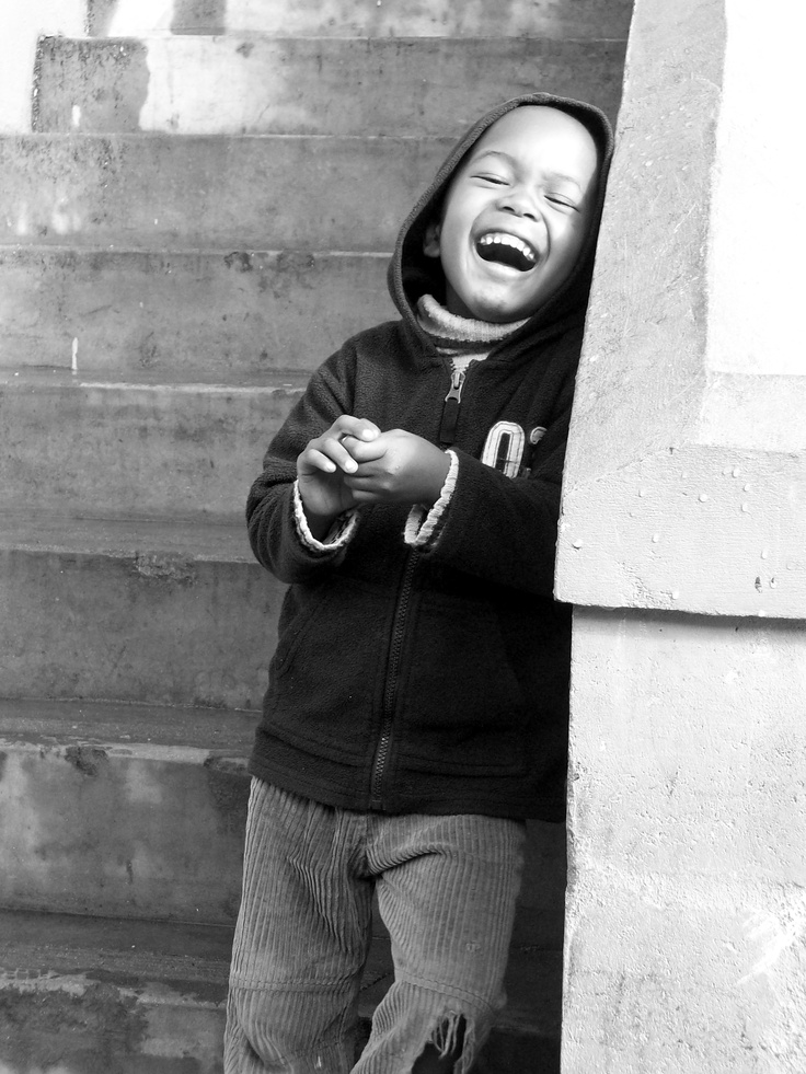 Picture from a township in South Africa.....innocence at it's finest!
