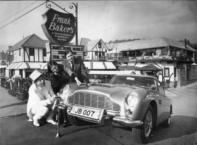 Vancouver restaurant history, Frank Baker's and 007 Car from the Movie