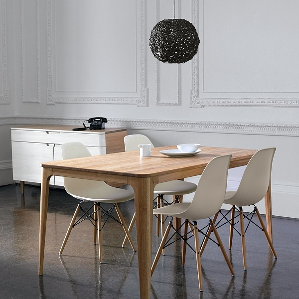Eames chairs from John Lewis Boards, Mira Dining, Side Tables, Dining Room Furniture, Kitchens Tables, Ebb Gehl, Dining Sets, John Lewis, Dining Tables