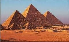 Oude muurschildering ontdekt bij een graf in Gizeh, Egypte