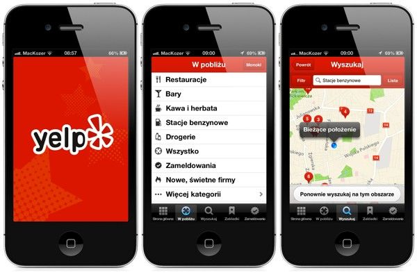 Yelp iphone zbiorcze 01 apps design mobile pinterest for Best home decor apps iphone
