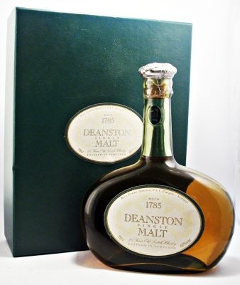 Very rare discontinued bottling of Deanston 25 year old.