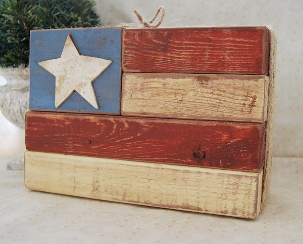 american 2x4 wooden flag, 2x4 wood, 2x4 projects, americana, folk art, home decor, decor, RedWhite&Blue, Diy, handmade, homemade, crafts for men, crafts, crafty, crafting, wooden projects, paint, 4th of July, America