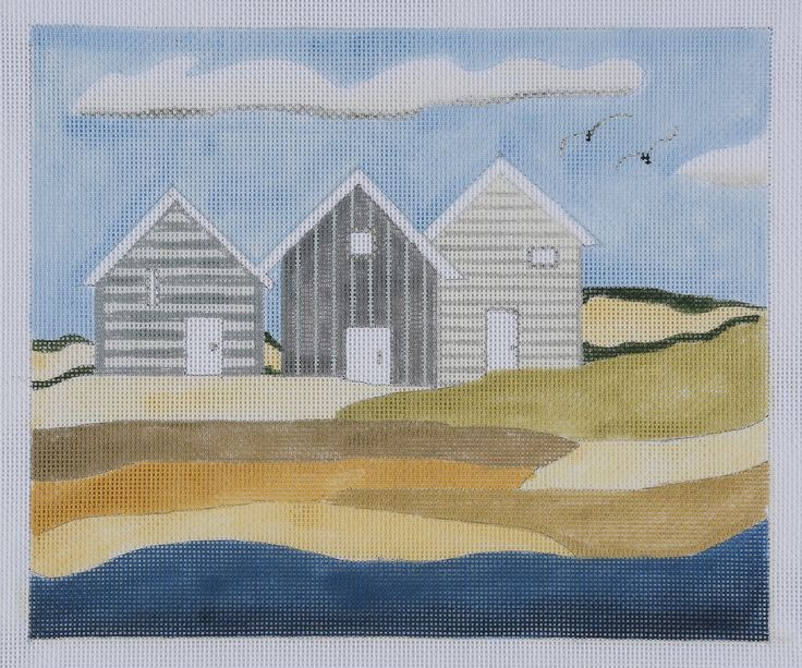 53 best beach decor needlepoint images on pinterest for Beach house embroidery design