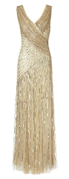 Ariella Juliet Sequin Long Dress. If I had the body and the money, I would so wear this dress. Gorgeous!