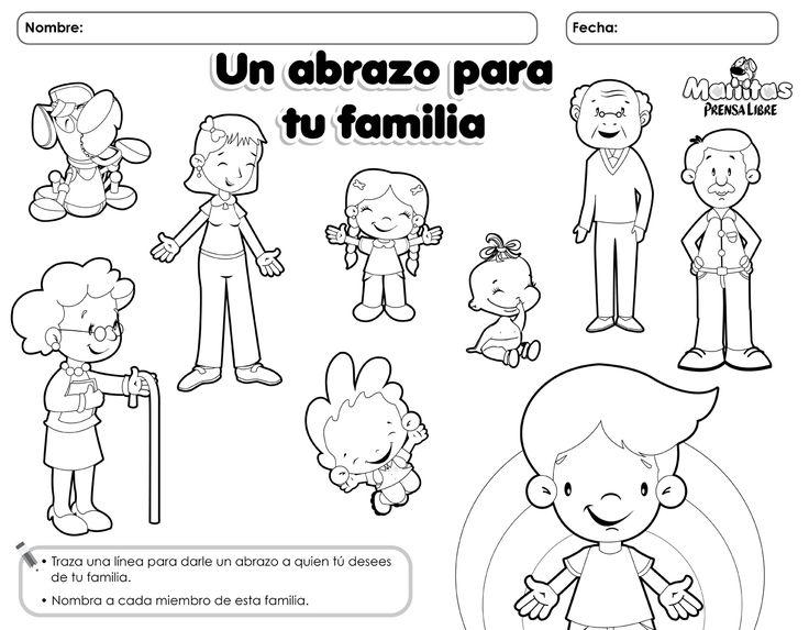 15 best la familia images on Pinterest  School Spanish and