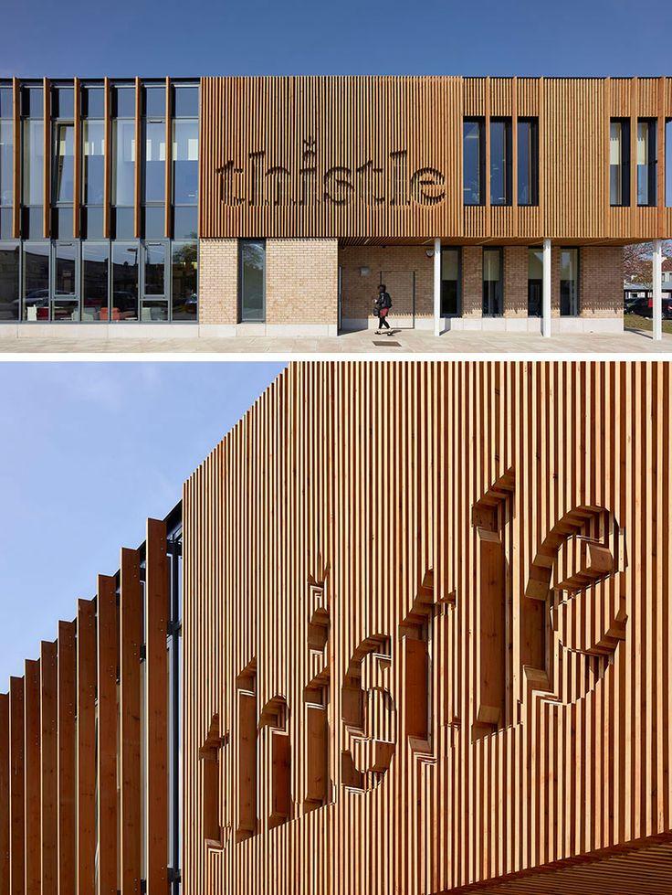 SIGN DESIGN IDEA   Integrate A Logo Into The Exterior Of A Building