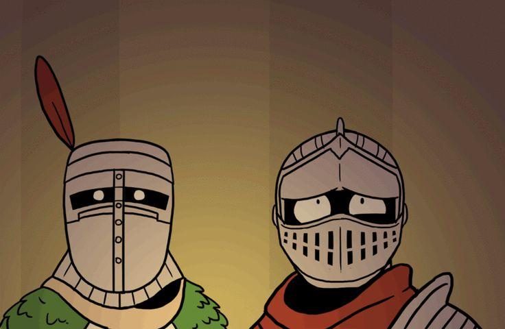 Dark Souls,фэндомы,DS gif,Solaire of Astora,DS персонажи,Dragon slayer Ornstein,Chosen Undead