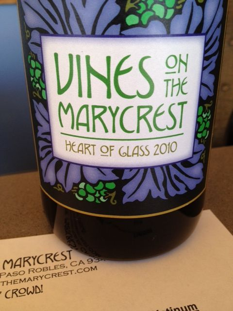 Paso Robles Wine: Vines On the Marycrest | Hoot n Annie
