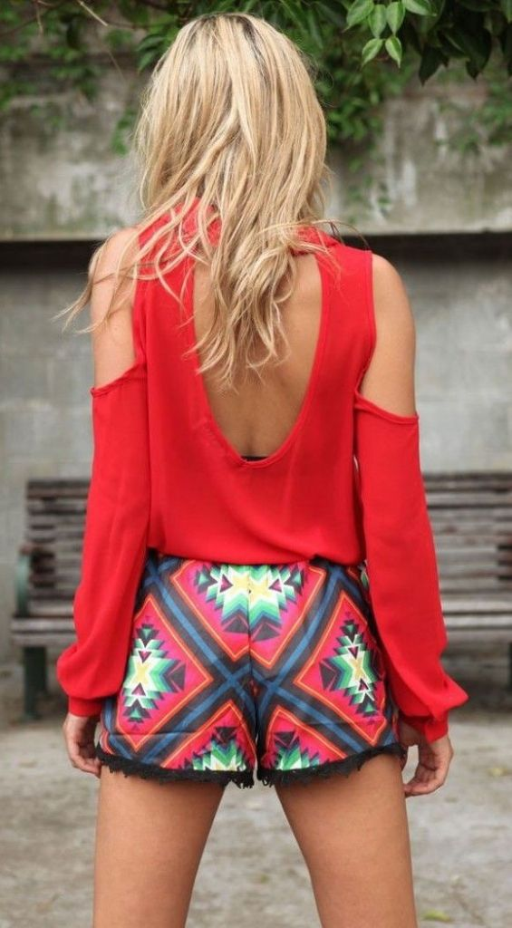 #summer #fashion / geo print