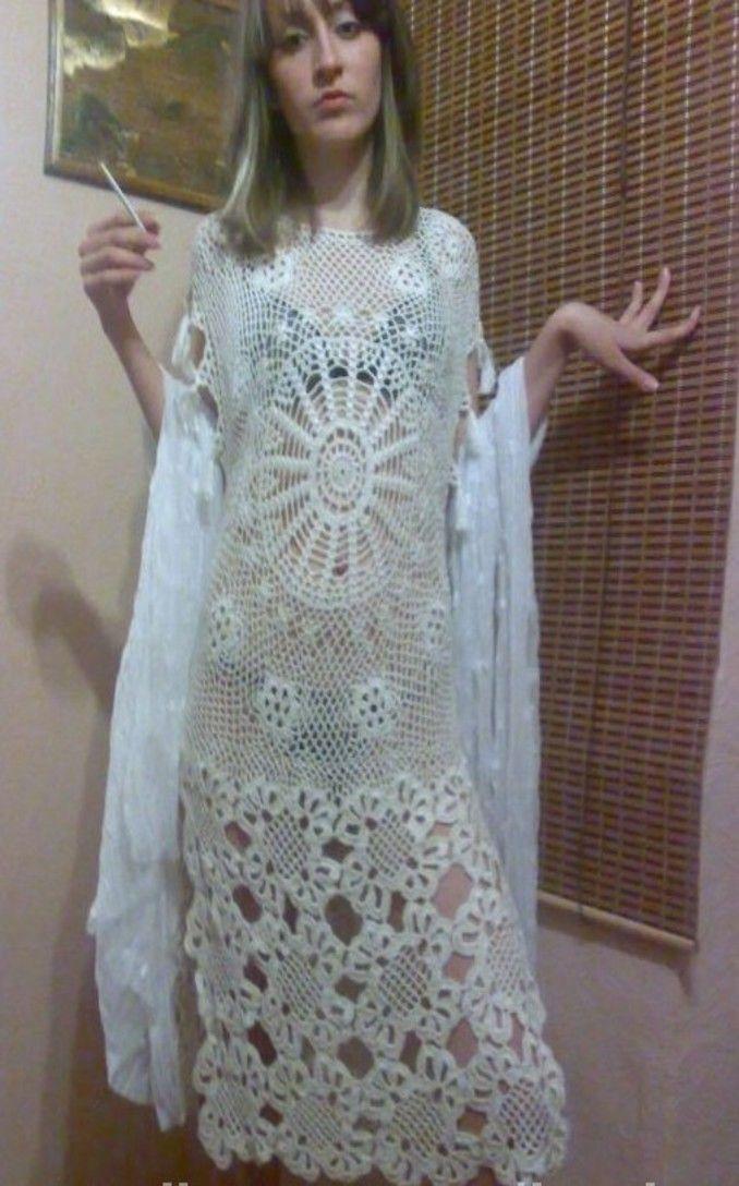 JPG crochet dress