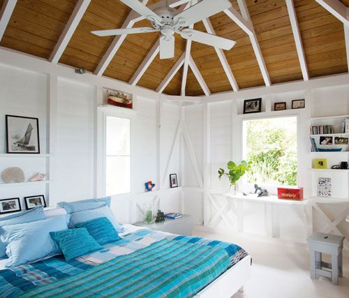 Dream Homes The Style Files Wooden Ceiling Fan And A