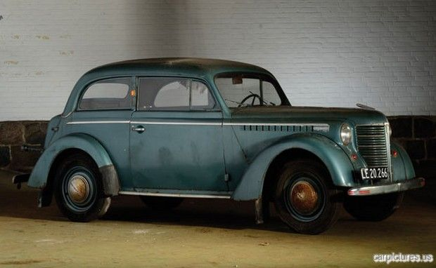Blast from the past - The 1939 Opel OL 38 Olympia