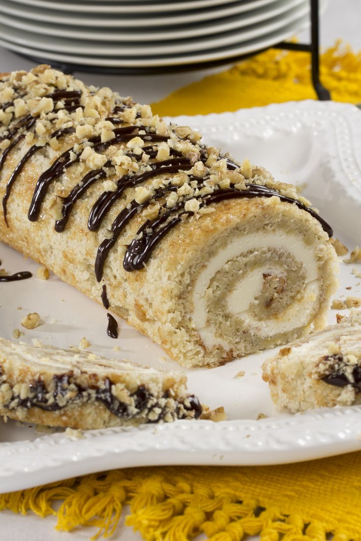 Banana Bread Roll | MrFood.com