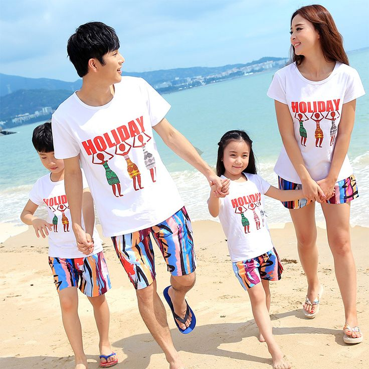 Family clothing set cotton for mother father and me pants+shirts family clothes set matching mother daughter clothes