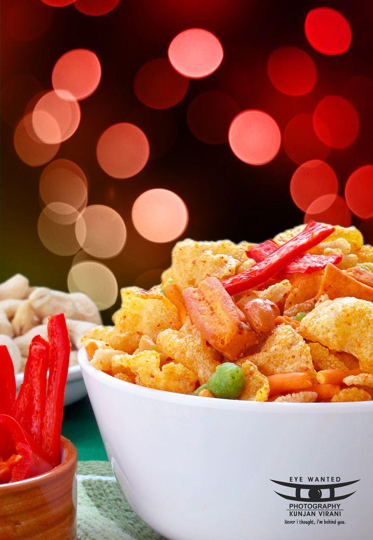 Hot Red Chilly Indian Namkeen Tikha Chivda