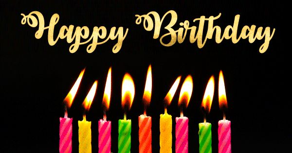 Happy Birthday Animated GIF Images