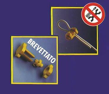 #ferramenta Finalmente un buon fissaggio per il cavo destinato allo stendibiancheria: il nuovo metodo Block-Fix
