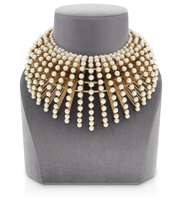 """MISE EN DIOR - """"Mise en Dior"""" Couture necklace"""