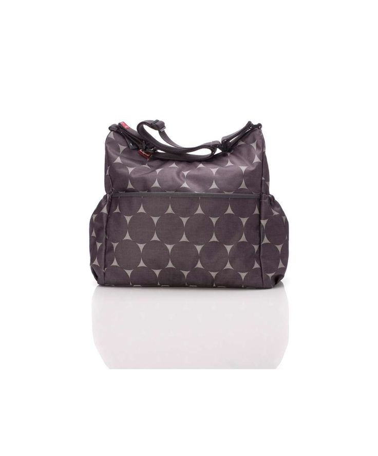 Babymel Big Slouchy Changing Bag - Grey Dot - View All - Mamas & Papas