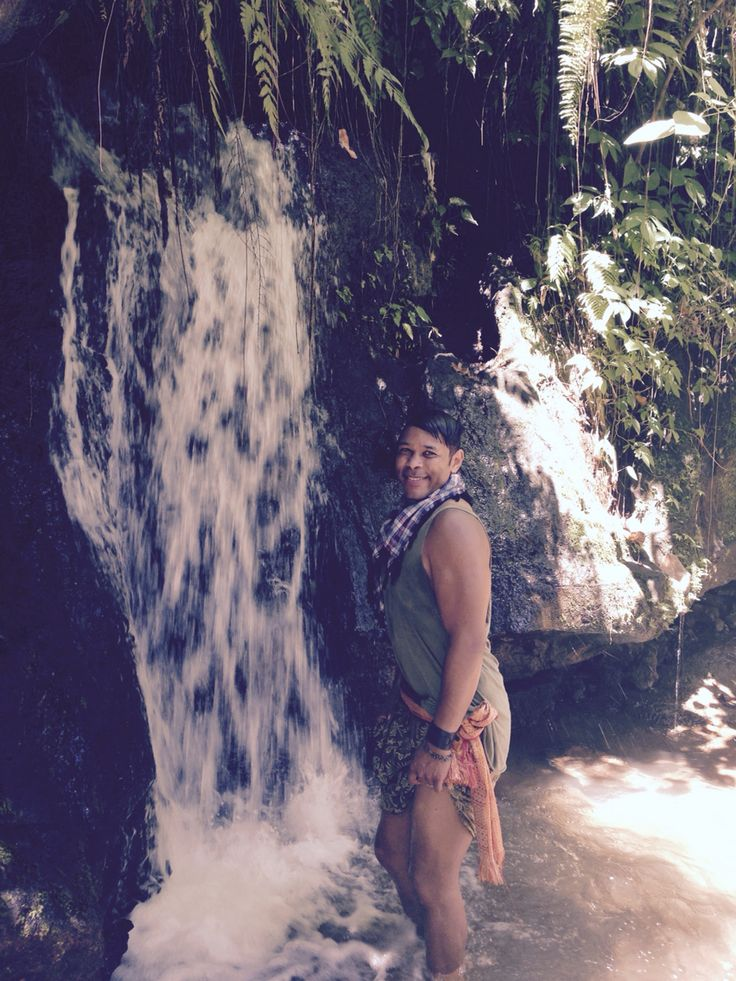 Elephant Cave falls