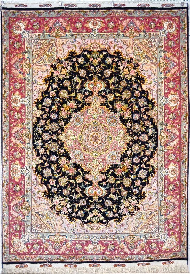 Gharebaghi 80 Raj Silk Persian Rug Item Ba 32 990 Category