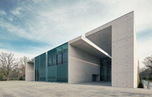 Crematorium Baumschulenweg by Shultes Frank Architeckten - Germany