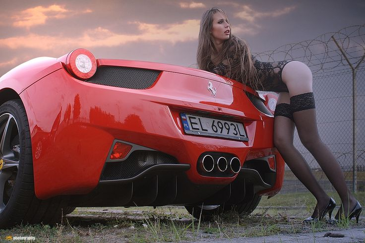 Ferrari 458 Italia & Nina by Jarek S on 500px