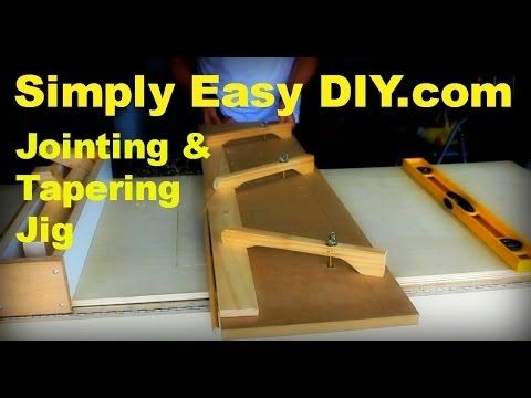 Table Saw Jointer and Tapering Jig - http://tonysplaners.com/2015/01/19/table-saw-jointer-and-tapering-jig/