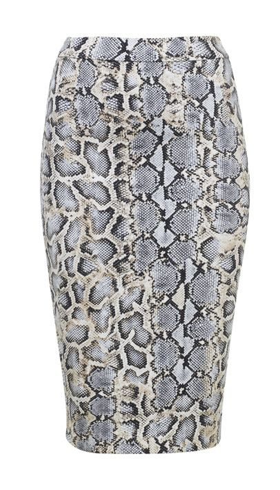 Snakeskin print! Skirt by Vanilia