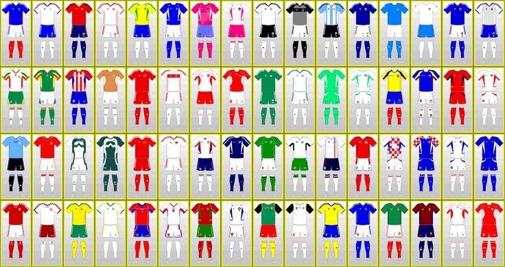 FIFA 월드컵 유니폼 / FIFAワールドカップ制服: 대한민국, 日本 2002
