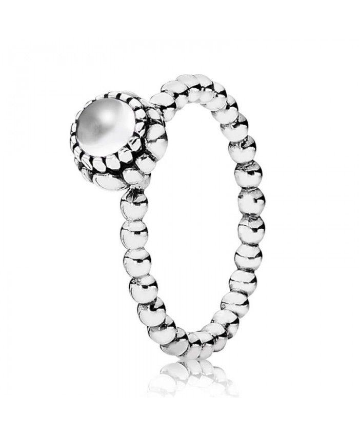 Pandora April Birthstone Ring UK