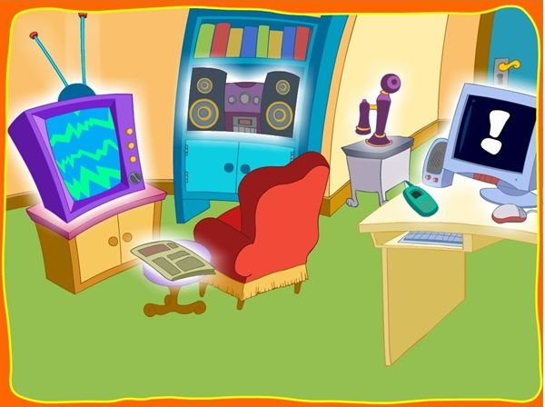"""""""Los medios de comunicación"""" (Unidad 4 del conjunto de aplicaciones de """"argentina.aula365.com""""), es una atractiva actividad interactiva para el Segundo Ciclo de Educación Infantil, especialmente para el nivel de 5 años, que promueve en variadas tareas el aprendizaje de lo más básico sobre los medios de comunicación social."""