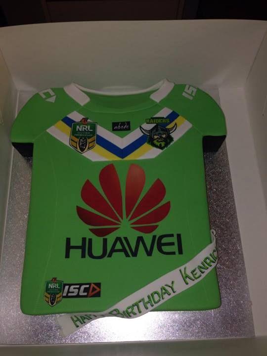 Canberra Raiders birthday cake!