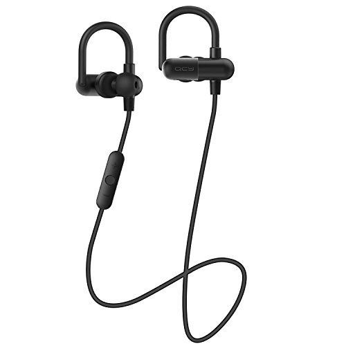 Bluetooth Headphones Bienna Wireless Sport Running Waterproof Sweatproof Stereo Noise Cancelling Earbuds Headsets Earphones with Mic for IPhone Android IPad LaptopBluetooth 41 QY11 Black -- Click image to review more details.