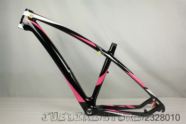 2017 carbon fiber bike frame mtb27.5er glossy pink t800 carbon mountian bike carbon mtb frame Oem DESIGN